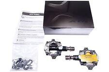 "New Shimano XTR PD-M9000 Race SPD MTB Pedals set Clipless 9/16"" SM-SH51 cleats"