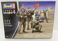 REVELL 02533-SOVIET SPETSNAZ 1:72 Figure in plastica