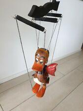 Marionette Ente aus Holz