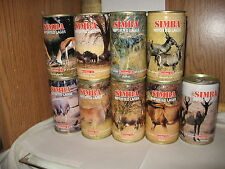 Simba Imported Lager Swaziland 11.5 oz beer cans # 9 22 23 25 28 your choice