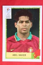 Panini EURO 2000 N. 60 PORTUGAL ABEL XAVIER New With BLACK back MINT!!
