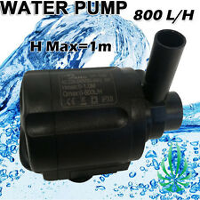 800L/H Water Pump Air Outlet Mix Wave Maker Fo Hydroponics Aquarium Fountain