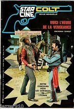STAR-CINE COLT n°6 ¤ 1970 ¤ VOICI L'HEURE DE LA VENGEANCE ¤ ROMAN PHOTO
