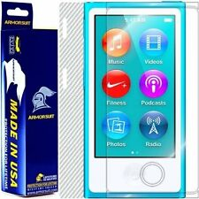 ArmorSuit MilitaryShield Apple iPod Nano 7th Gen Screen + White Carbon Fiber