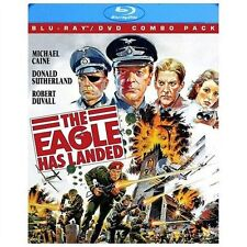 The Eagle Has Landed Blu-ray/DVD 2-Disc Combo Pack 2013 Caine Sutherland Duvall
