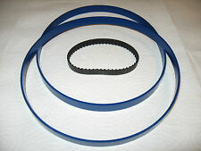 "2 BLUE MAX BAND SAW TIRES AND DRIVE BELT FOR KAWASAKI 9"" MODEL 840254 BAND SAW"