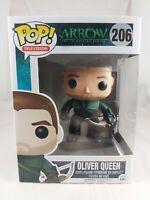 Television Funko Pop - Oliver Queen (Unmasked) - Arrow - No. 206