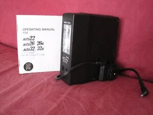 Solid State Auto 32 Sunpak Flash & Operating Manual