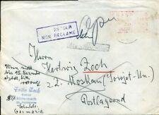 420633) Bund Postkrieg Blg n. Moskau, 479 PK XIX (100,-), Übermalung weiß