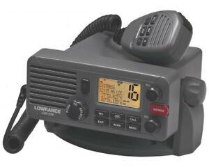 LOWRANCE LVR-250 Marine VHF DSC Radio / VHF-Funkanlage See- und Binnenfunk
