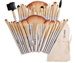 VANDER 32Pcs Set Professional Makeup Brush Foundation Eye Shadows Lipsticks Powd