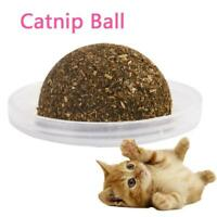 Lick Kitten Edible Treating Cleaning Teeth Catnip Ball Pet Supplies Cat To k0co
