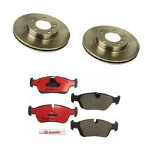 BMW E36 3-Series Front Brake Kit With Vented Rotors And Pads Brembo New