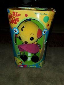 "Applause Rolie Polie- Zowie Plush Stuffed Robot Toy 8"""
