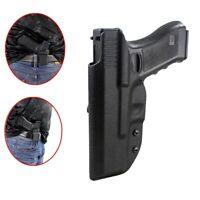 Tactic waistband Concealment Kydex Gun Pistol Holster For Glock G17 G22/31 Black