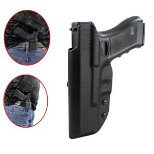 Tactic waistband Concealment Kydex Black Holster For Glock G17 19 G22/31 36