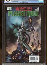 WHAT IF? PLANET HULK #1 CGC GRADED 9.6 WHITE PAGES 2007 #2040371015