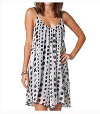 Fox Racing Women White Light Dress Size S