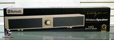 Mental Beats Ligno Bluetooth Speaker Model 72287 White