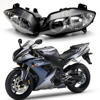 Motorcycle ABS Front Headlight Head Lamp Assembly For Yamaha YZF-R1 2004-2006
