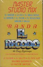Banda El Recodo Master Studio Mix Cassette Nuevo Sealed