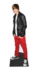 Justin Bieber Pappaufsteller Lederjacke