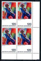Bund MiNr. 823 I postfrisch MNH im 4er Block Eckrand ur (O6008