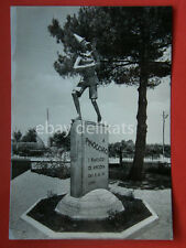 ANCONA monumento a PINOCCHIO Morelli vecchia cartolina