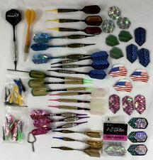 NICE Lot of Darts Shafts, Flights, Various Dart Sets Preowned