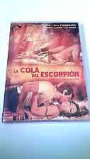 "DVD ""LA COLA DEL ESCORPION"" PRECINTADA SERGIO MARTINO UNCUT GEORGE HILTON"