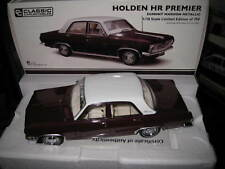 1.18 CLASSIC HOLDEN HR PREMIER EGMONT MAROON METALLIC LTD EDITION 750  #18671