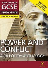 AQA Poetry Anthology - Power and Conflict: York Notes for GCSE 9-1: Second