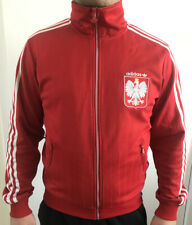 Poland Adidas Originals Retro Football Jackets Size M
