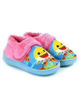 Pinkfong bambino squalo rosa vibrante della ragazza bambini Strap pantofole
