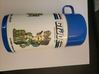 1988 GI JOE Tiger Force Hasbro Thermos Aladdin Complete With Lid. Free Shipping