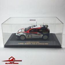 FORD FOCUS WRC nº4 RALLYE DE CATALUNYA 2002 C.Sainz-M.Martí  IXO/ALTAYA 1:43 BOX