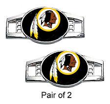 Washington Redskins Shoe Charms / Paracord Charms