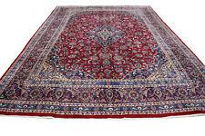 Tappeto Persiano Mashhad 405 cm x 300 Orientteppich Perfette Condizioni No. 319