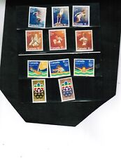 CANADA set of 11 semis to help fund 1976 OLYMPICS  MNH #B1-to- B12 less  Lot 407