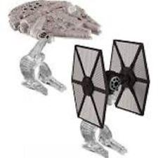 Disney Hot Wheels Star Wars The Fighter vs. Millennium Falcon-Flight Navigator