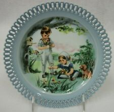 "Bing & Grondahl B&G Denmark ""Wildflowers of Summer"" Seasons Remembered Plate"