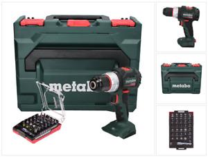 Metabo SB 18 LT BL Akku Schlagbohrschrauber 18 V 75 Nm + Bit Set + metaBOX