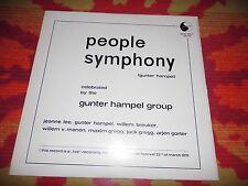 ♫♫♫ Gunter Hampel Group - People Symphony * birth 005 Vinyl LP ♫♫♫