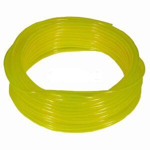 "10 Feet Tygon Clear Yellow Gas Fuel Line ID 1/4"" OD 3/8"" (HS8)"