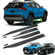 For Toyota RAV4 2019-2020 ABS Carbon Side Panel Door Body Molding Cover Trim 4X