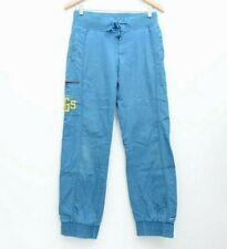 NIKE Goddess Squad VARSITY N.G.S USA, S, Sweat Pants, Vintage TEAL Good! 56323