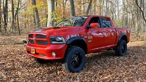 Maple4x4 2009-2020 Dodge Ram 1500 Pocket Style Riveted Fender Flare,Classic body