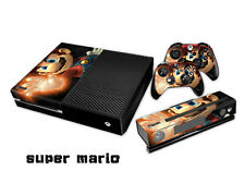 Super Mario Full Body Vinyl Skin Kit for Xbox One Console 2 remotes Kinect
