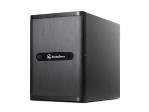 Silverstone DS380B Black 8Bay Small Form Factor NAS Chassis w/o Power Supply