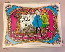 Vintage 1968 The World of Barbie Double Doll Case Storage Box Mattel USA